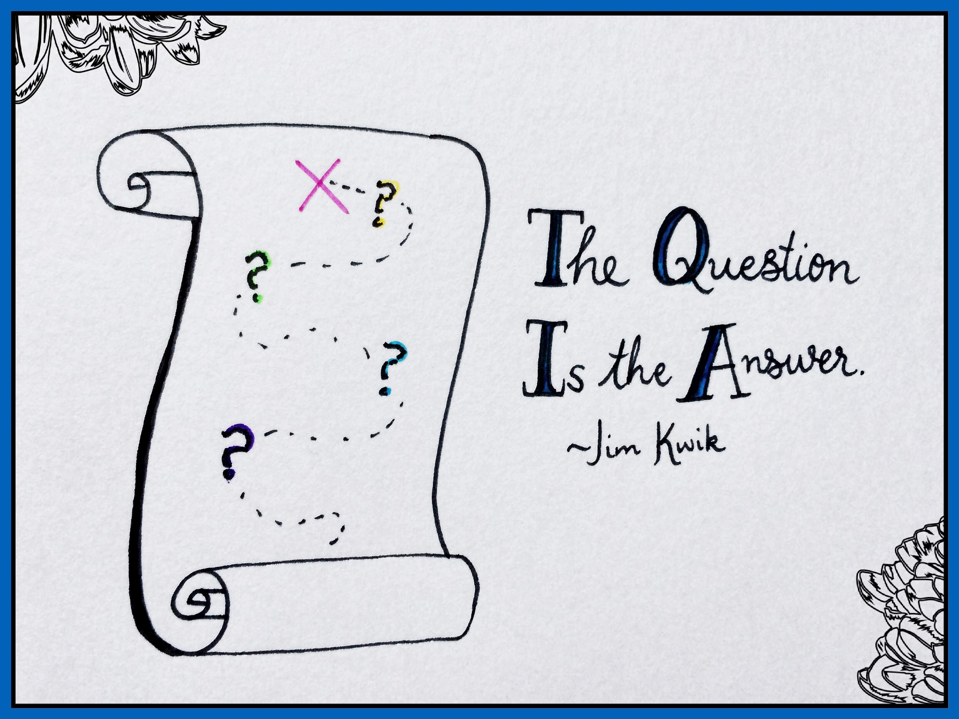 The Question is the Answer - Jim Kwik